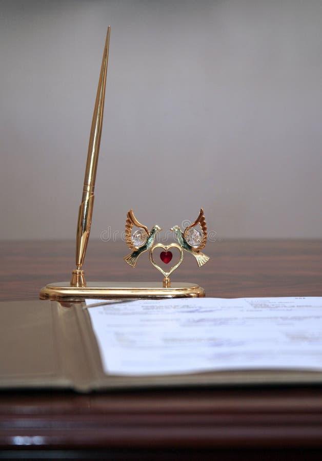 wesele umowy zdjęcia royalty free