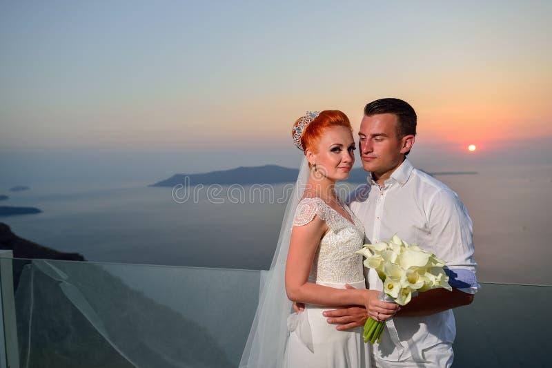 weselne młodych par zdjęcie royalty free