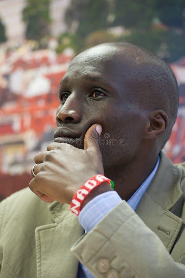 Wesley Korir royaltyfri foto