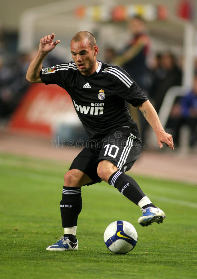 Wesley Sneijder Of Real Madrid Editorial Stock Photo