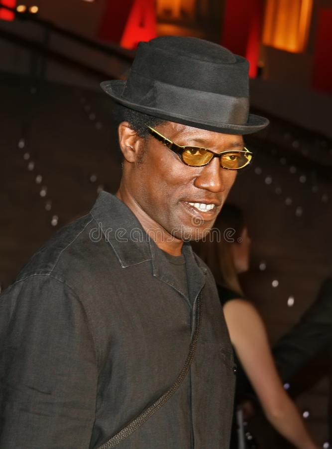 Wesley Snipes immagine stock
