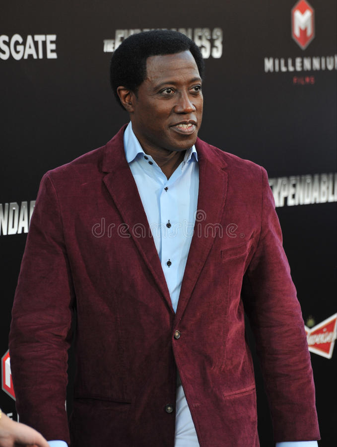 Wesley Snipes photographie stock