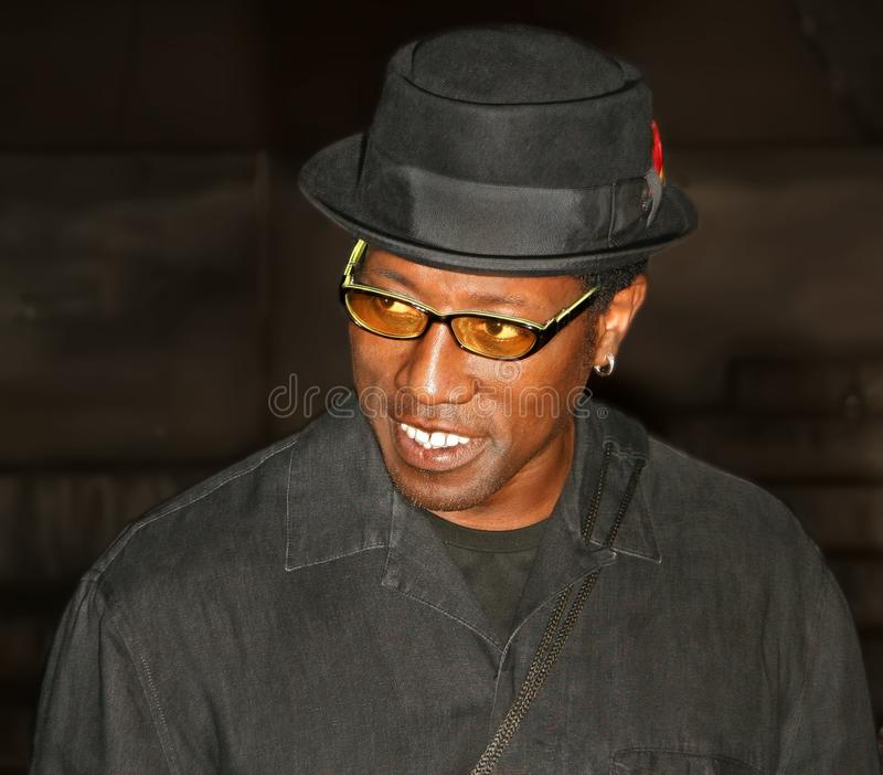 Wesley Snipes royalty free stock image