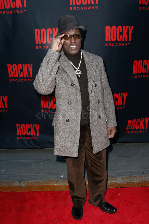 Wesley Snipes royalty free stock photography