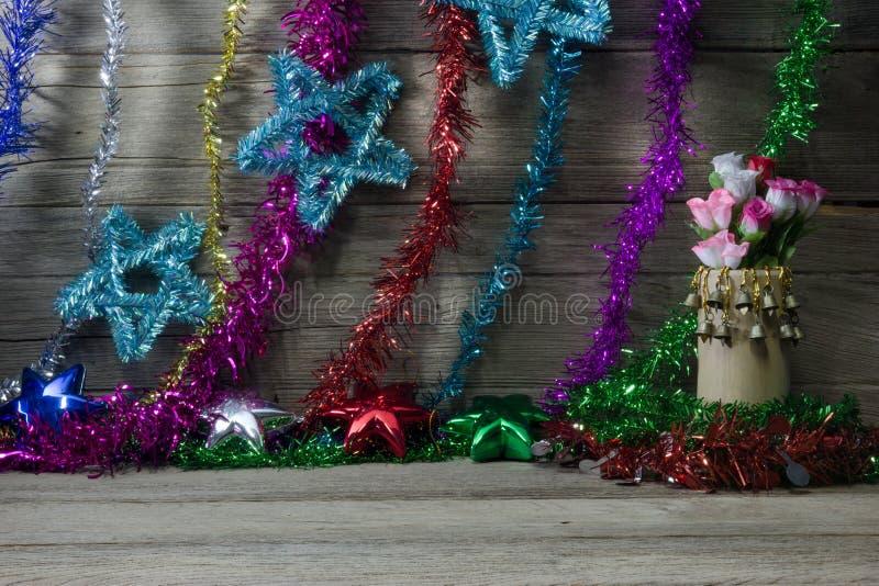 Wesoło boże narodzenia życia i szczęśliwy nowy rok, wciąż fotografia stock