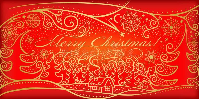 Wesoło Boże Narodzenia! ilustracji