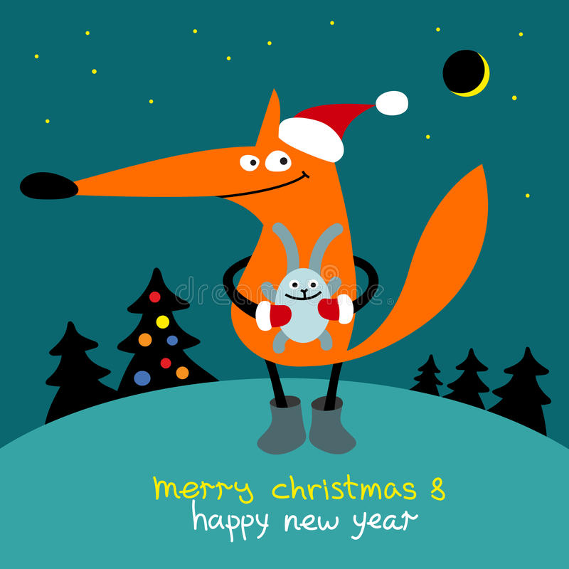 Wesoło boże narodzenia i Szczęśliwy nowy rok zdjęcia royalty free