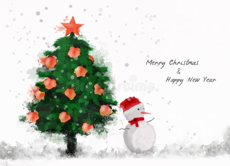 Wesoło boże narodzenia & Szczęśliwy nowy rok obrazy royalty free