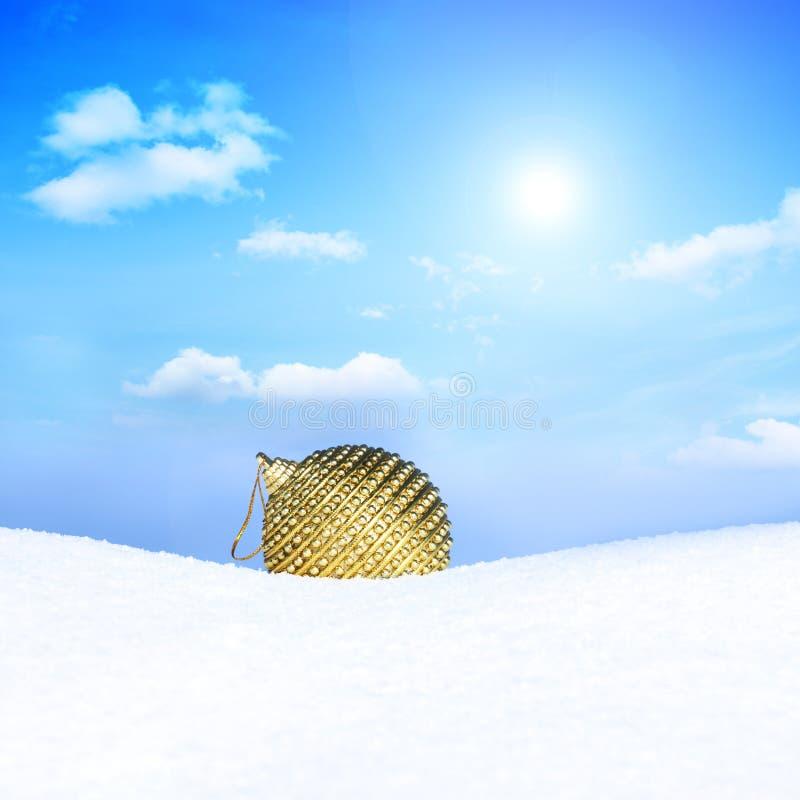 wesoło Boże Narodzenie scena fotografia royalty free