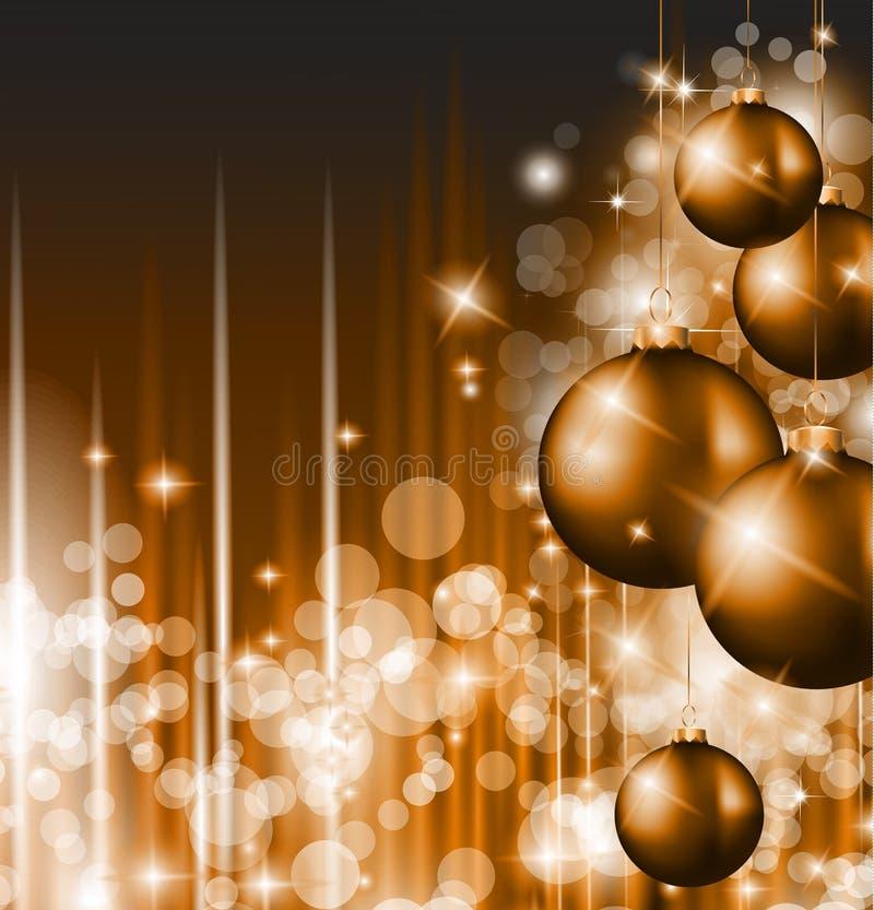 Wesoło Bożych Narodzeń Elegancki Sugestywny Tło royalty ilustracja