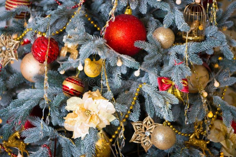 wesoło szczęśliwi Boże Narodzenie wakacje szczęśliwego nowego roku, Ranek przed Xmas Nowego Roku wakacje Boże Narodzenia piękne zdjęcia royalty free