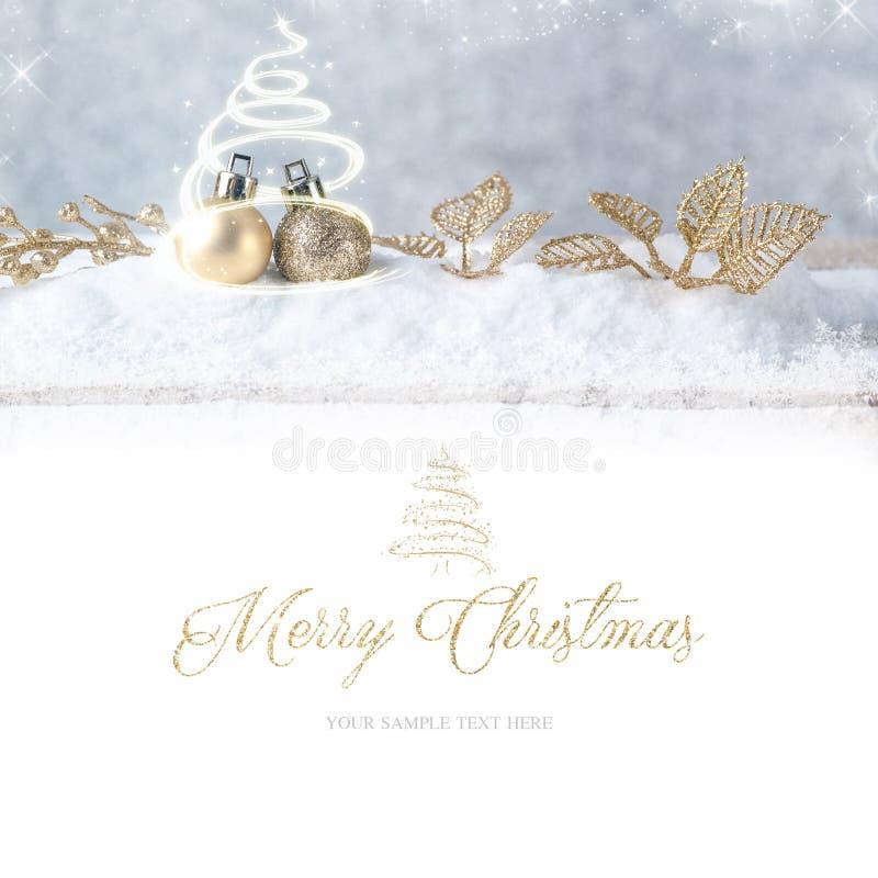 wesołych Świąt Święta dekorują odznaczenie domowych świeżych pomysłów obrazy royalty free