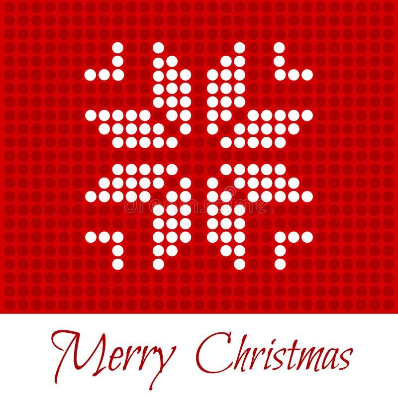 wesołych Świąt 2007 pozdrowienia karty szczęśliwych nowego roku royalty ilustracja
