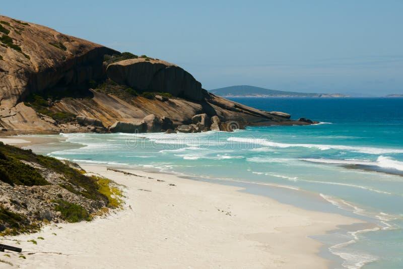 West Beach - Esperance - Australia. West Beach in Esperance - Australia royalty free stock photos