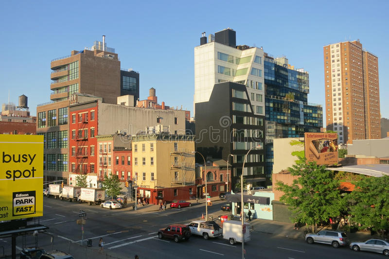 Download West Chelsea editorial photography. Image of neighborhoods - 33534702