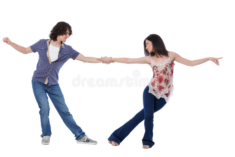 Download West Coast Swing Dance stock image. Image of attractive - 39423487