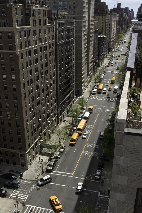 West End Avenue, South stock photography