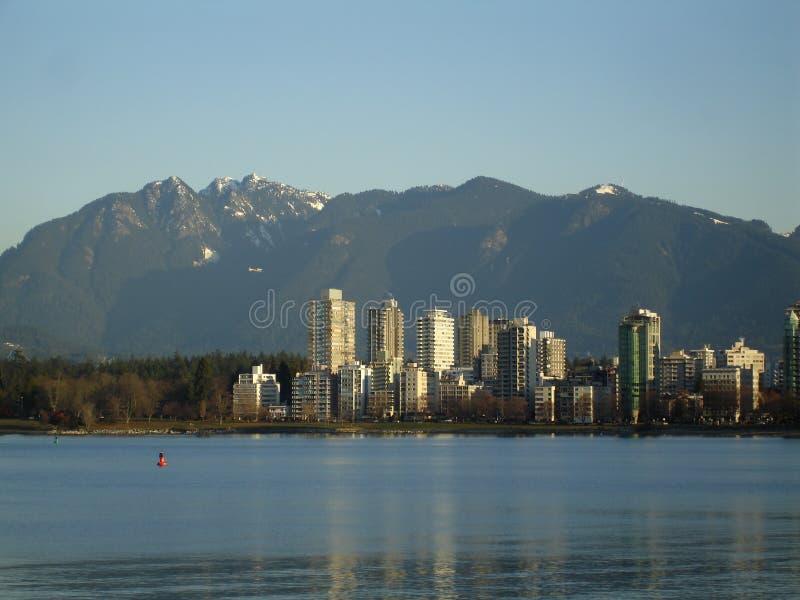 West End de Vancouver fotografía de archivo libre de regalías