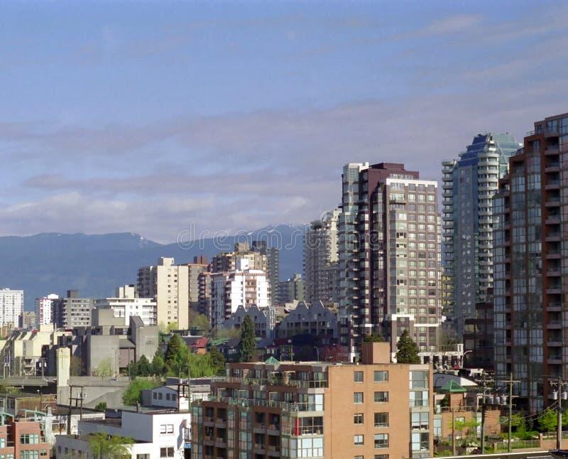 West End de Vancouver photo libre de droits