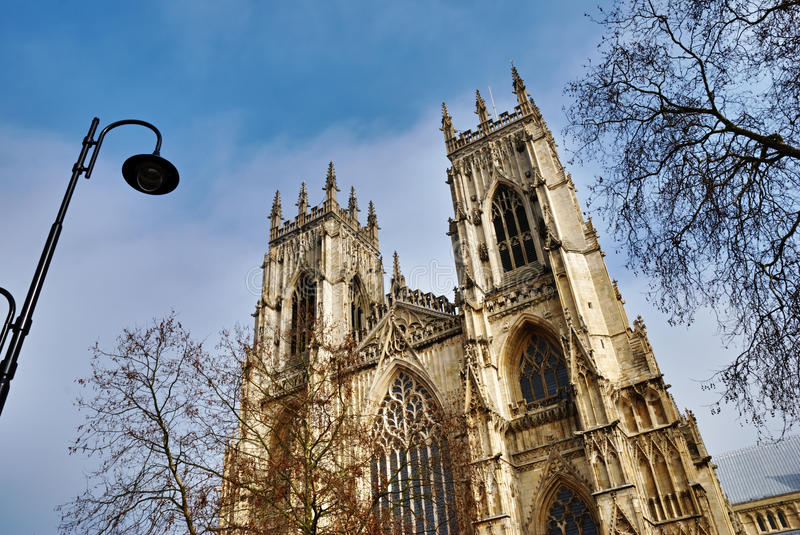 West Front York Minster Royalty Free Stock Images