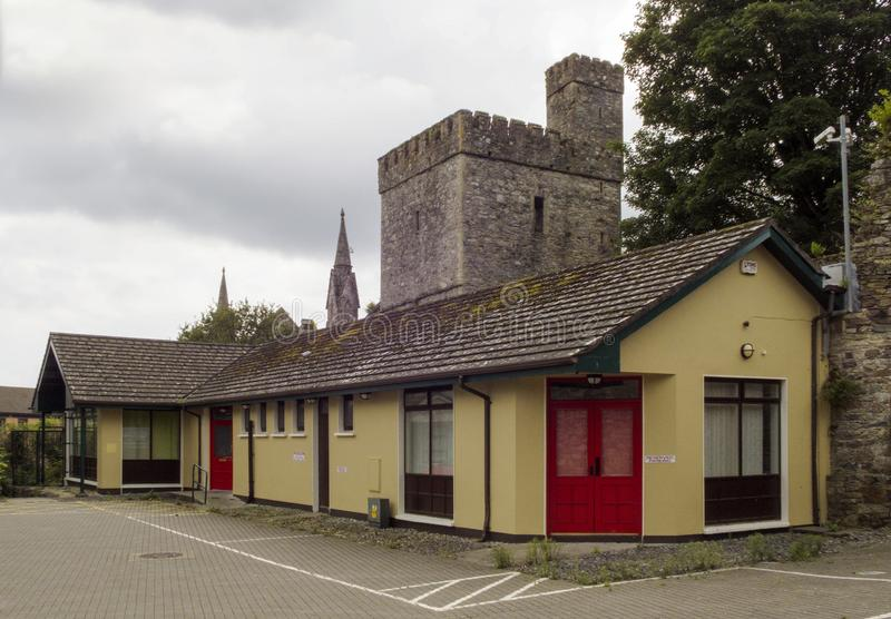 West Gate Tower in Wexford royalty free stock images