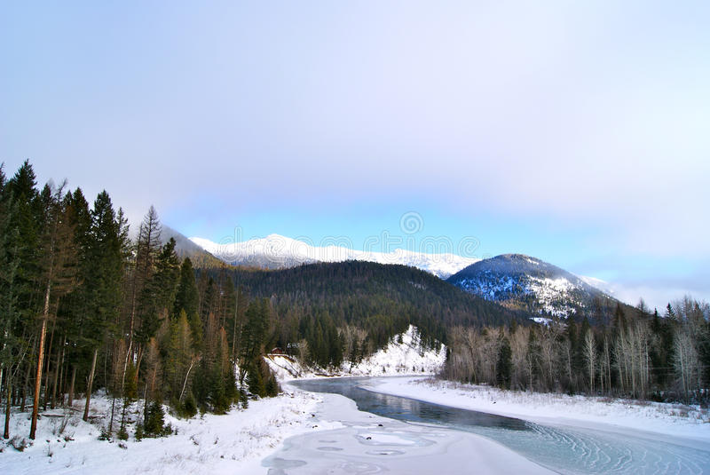 West Glacier Park stock photo