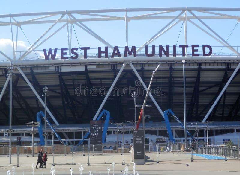 West Ham United Stadium royalty free stock photo