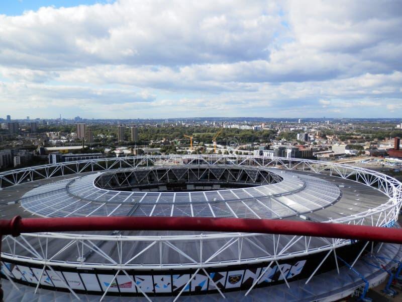 West Ham United Stadium royalty free stock photography