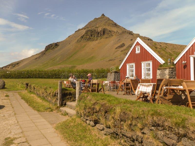 West Iceland peninsula royalty free stock photos