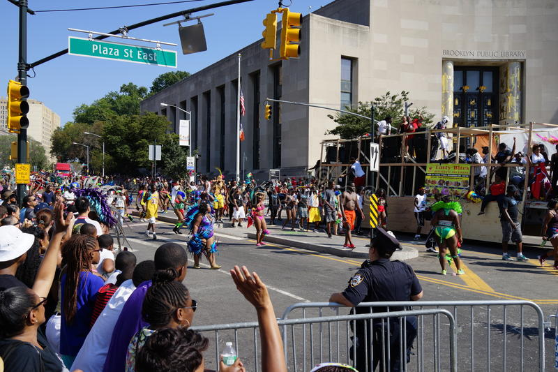 The 2015 West Indian Day Parade 1 royalty free stock photography