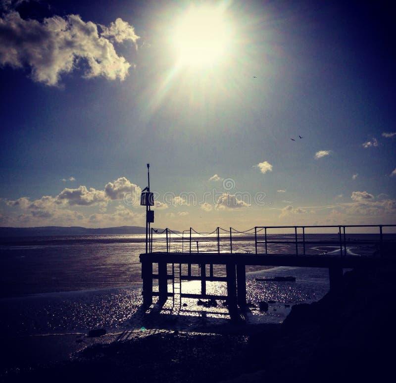 West Kirby Marina stock photo
