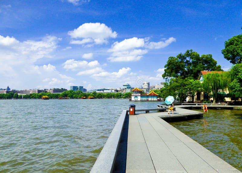West Lake Cultural Landscape of Hangzhou stock images