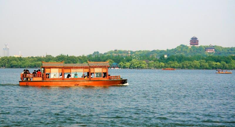 West Lake In Hangzhou Editorial Image