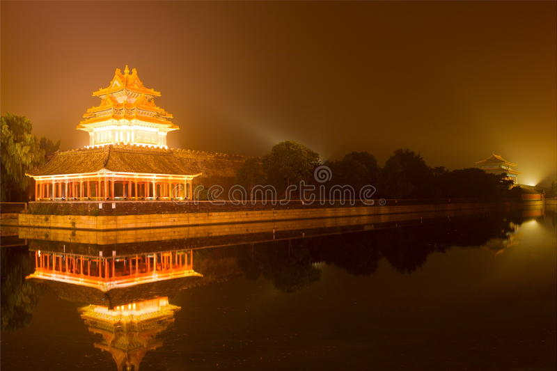The west lake at night royalty free stock photos