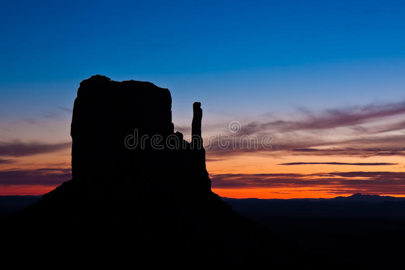 Download West Mitten Silhouette stock image. Image of park, rock - 11636537