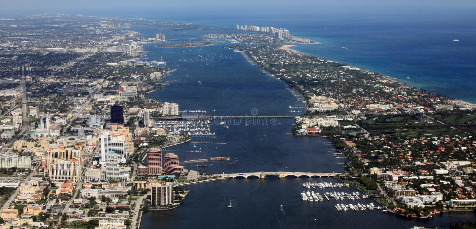 West Palm Beach arkivfoto