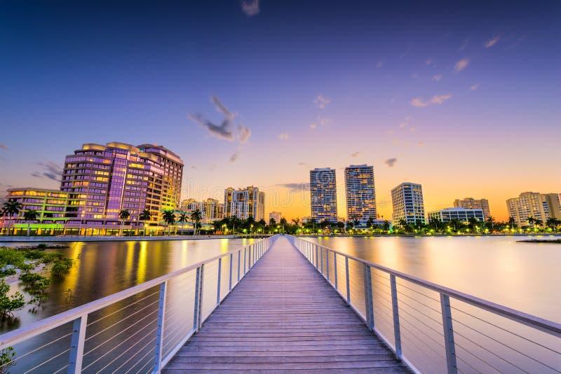 West Palm Beach foto de archivo libre de regalías