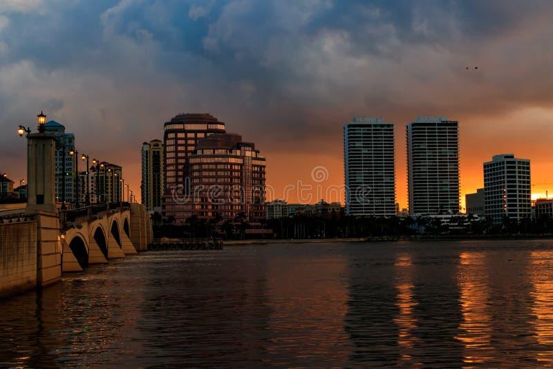 West Palm Beach céntrico foto de archivo