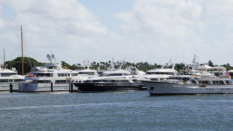 West Palm Beach en la Florida imágenes de archivo libres de regalías