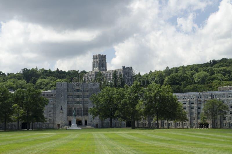 West Point kampus obraz stock