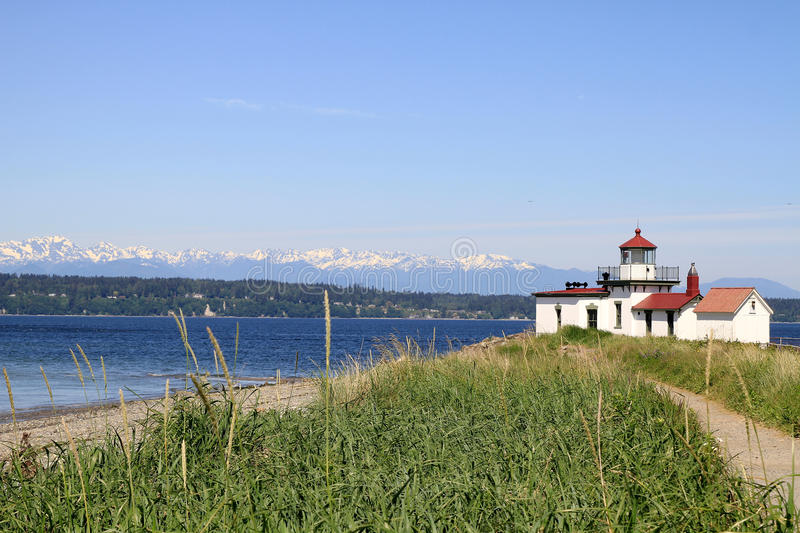 Download West Point Lighthouse Discovery Park Seattle Stock Photo - Image: 19839928