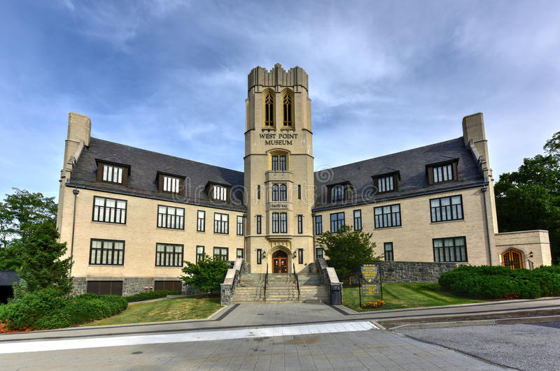 West Point museum royaltyfri foto