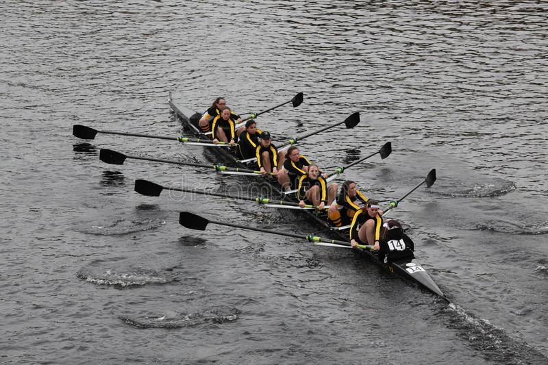 West Point Women S Collegiate Crew Editorial Photography