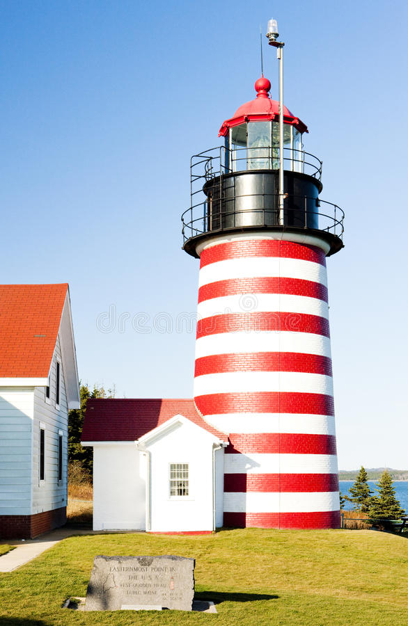 Download West Quoddy Head Lighthouse Stock Photo - Image: 28526732