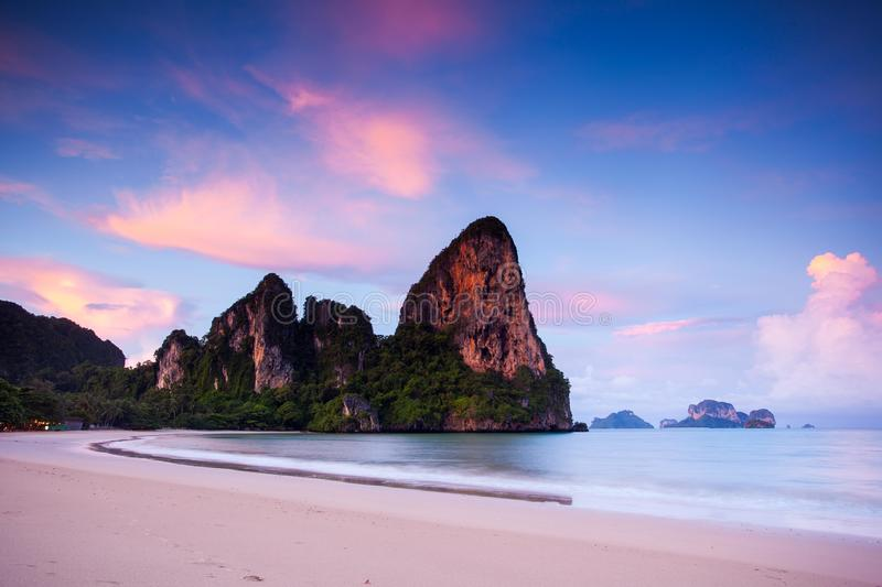 West Railay Bay stock image