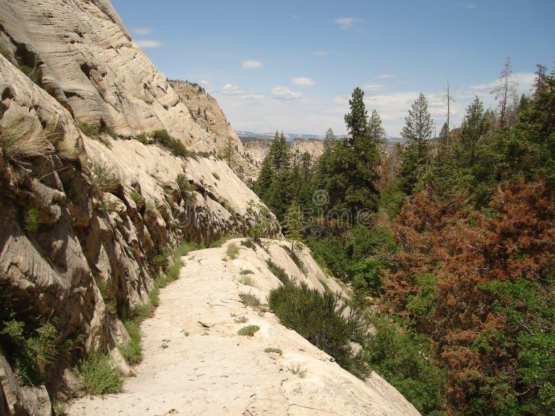 West Rim Trail stock photos