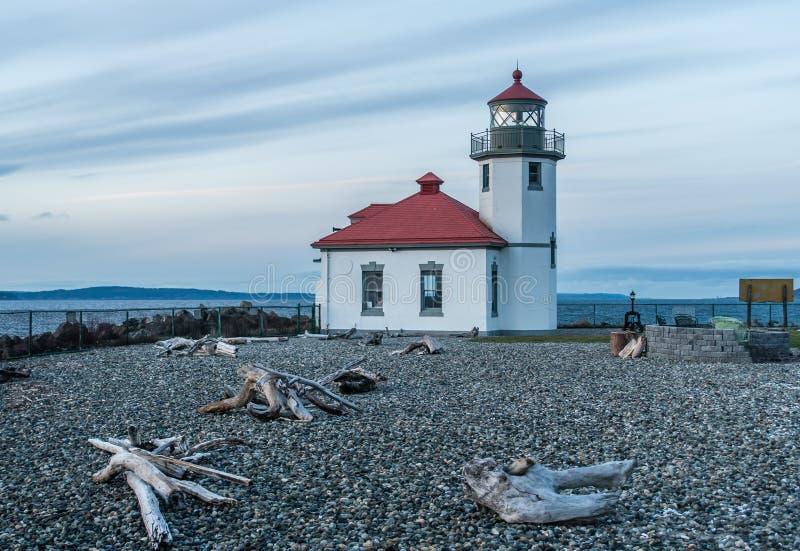 West-Seattle-Leuchtturm 7 lizenzfreies stockfoto