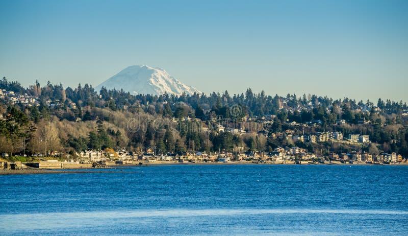 West-Seattle und Spitze 2 stockfoto