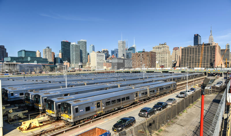 West Side Train Yard stock images