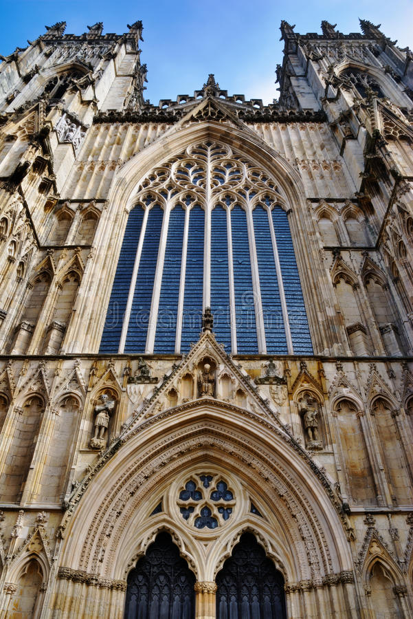 Download West Stained Glass Window York Minster Stock Image - Image: 23978513